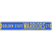 Authentic Street Signs Golden State Warriors Court Sign