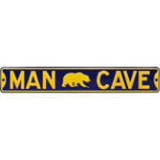 Authentic Street Signs Cal Golden Bears 'Man Cave' Street Sign