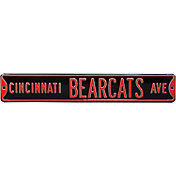 Authentic Street Signs Cincinnati Bearcats Avenue Sign