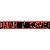 Authentic Street Signs Cincinnati Bearcats 'Man Cave' Street Sign