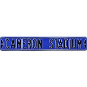 Authentic Street Signs Duke Blue Devils 'Cameron Stadium' Street Sign
