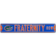 Authentic Street Signs Florida Gators 'Fraternity Row' Street Sign