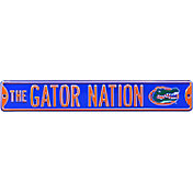 Authentic Street Signs Florida Gators 'The Gator Nation' Street Sign
