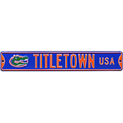 Authentic Street Signs Florida Gators 'Titletown USA' Street Sign