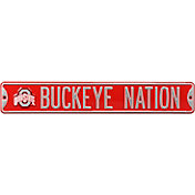 Authentic Street Signs Ohio State 'Buckeye Nation' Street Sign