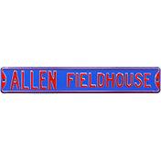 Authentic Street Signs Kansas Jayhawks 'Allen Fieldhouse' Street Sign