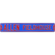 Authentic Street Signs Kansas Jayhawks 'Allen Fieldhouse' Street Sign