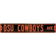Authentic Street Signs Oklahoma State Avenue Black Sign