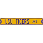 Authentic Street Signs LSU Tigers Avenue Sign
