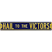 Authentic Street Signs Michigan Wolverines 'Hail to the Victors' Street Sign