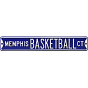 Authentic Street Signs Memphis Basketball Court Sign