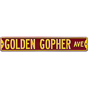 Authentic Street Signs Minnesota Golden Gophers Avenue Sign