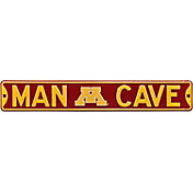 Authentic Street Signs Minnesota Golden Gophers 'Man Cave' Street Sign