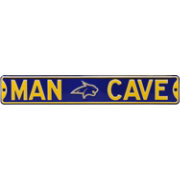 Authentic Street Signs Montana State Bobcats 'Man Cave' Street Sign
