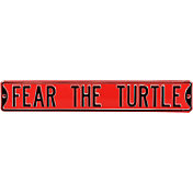 Authentic Street Signs Maryland Terrapins 'Fear the Turtle' Street Sign