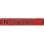 Authentic Street Signs Nebraska 'Cornhuskers Dr' Sign