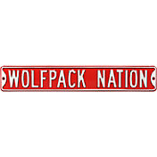 Authentic Street Signs N.C. State 'Wolfpack Nation' Street Sign
