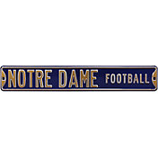 Authentic Street Signs Notre Dame 'Notre Dame Football' Street Sign