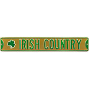 Authentic Street Signs Notre Dame 'Irish Country' Street Sign