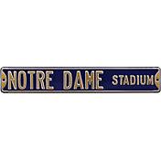 Authentic Street Signs Notre Dame Fighting Irish 'Notre Dame Stadium' Street Sign