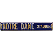 Authentic Street Signs Notre Dame Fighting Irish 'Notre Dame Stadium' Street Sign