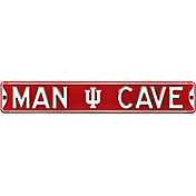 Authentic Street Signs Indiana Hoosiers 'Man Cave' Street Sign