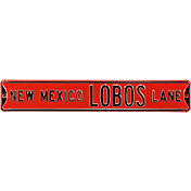 Authentic Street Signs New Mexico Lobos Lane Sign