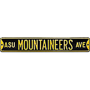 Authentic Street Signs Appalachian State Mountaineers Avenue Sign