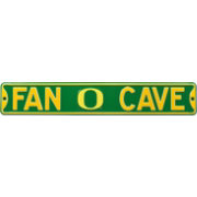 Authentic Street Signs Oregon Ducks 'Fan Cave' Street Sign