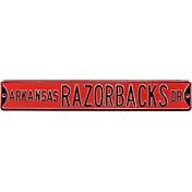 Authentic Street Signs Arkansas Razorbacks Avenue Sign