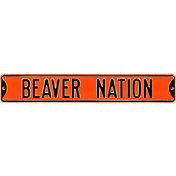 Authentic Street Signs Oregon State 'Beaver Nation' Street Sign