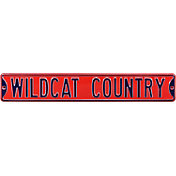Authentic Street Signs Arizona 'Wildcat Country' Street Sign