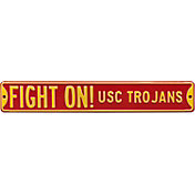 Authentic Street Signs USC 'Fight On! USC Trojans' Street Sign