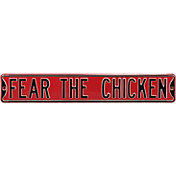 Authentic Street Signs South Carolina 'Fear the Chicken' Street Sign
