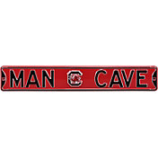 Authentic Street Signs South Carolina Gamecocks 'Man Cave' Street Sign