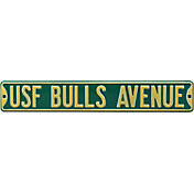 Authentic Street Signs South Florida 'USF Bulls Avenue' Sign