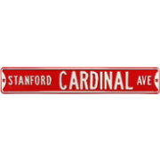 Authentic Street Signs Stanford Cardinal Avenue Sign