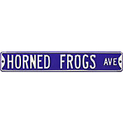 Authentic Street Signs TCU Horned Frogs Avenue Sign