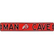 Authentic Street Signs Utah Utes 'Man Cave' Street Sign