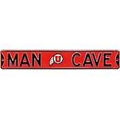 Authentic Street Signs Utah Utes 'Man Cave' Street Sign
