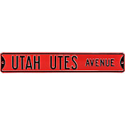 Authentic Street Signs Utah Utes Avenue Sign