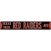 Authentic Street Signs Texas Tech Red Raiders Avenue Black Sign