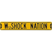 Authentic Street Signs Wichita State 'WuShock Nation' Sign
