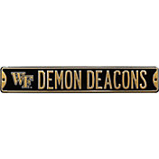 Authentic Street Signs Wake Forest Demon Deacons Street Sign