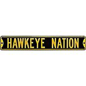 Authentic Street Signs Iowa Hawkeyes 'Hawkeye Nation' Street Sign