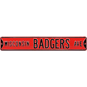 Authentic Street Signs Wisconsin Badgers Avenue Sign