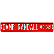Authentic Street Signs Wisconsin Badgers 'Camp Randall' Street Sign