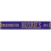 Authentic Street Signs Washington Huskies Avenue Sign