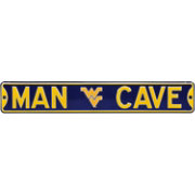 Authentic Street Signs WVU Mountaineers 'Man Cave' Street Sign