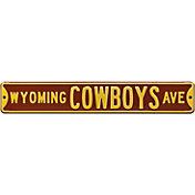 Authentic Street Signs Wyoming Cowboys Avenue Sign